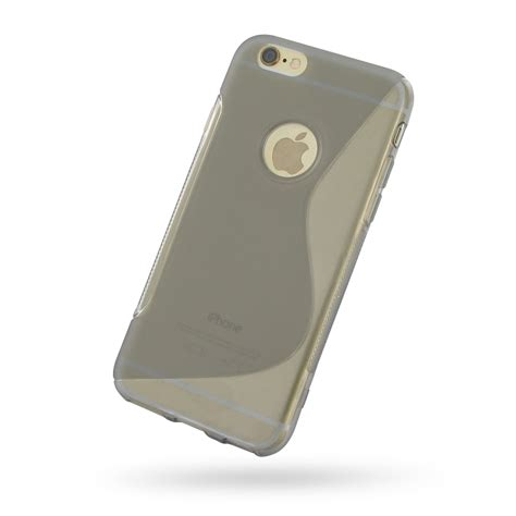 Softcase Iphone 6 Iphone 6 Iphone 6s Soft Grey S Shape Pattern