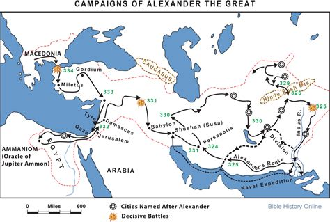 Dan Tyre by Campaigns Of Alexander The Great Bible History Online