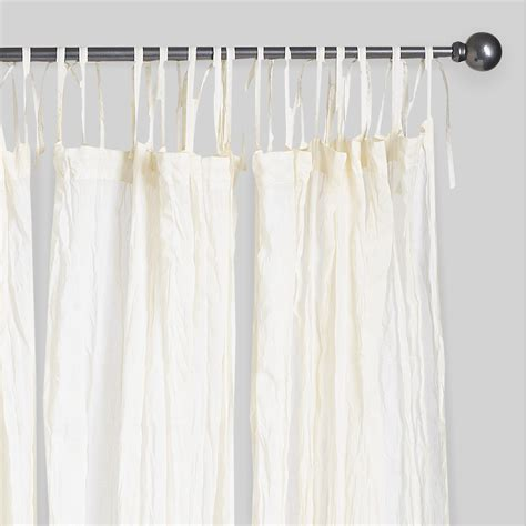 white cotton curtains 84 natural crinkle voile cotton curtains set of 2 white