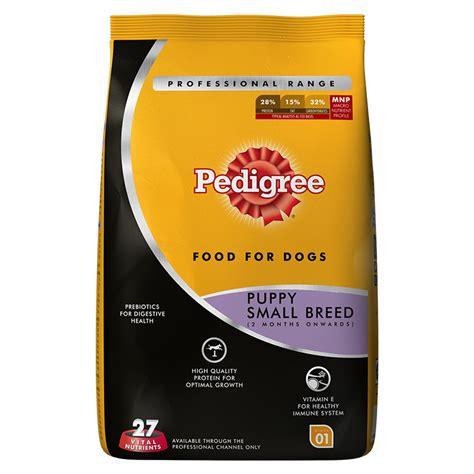 pedigree small food pedigree food puppy small breed professional 1 2 kg dogspot pet