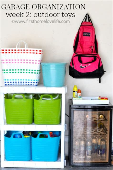 Garage Organization Zones Garage Storage Organization Ideas Fox Hollow Cottage