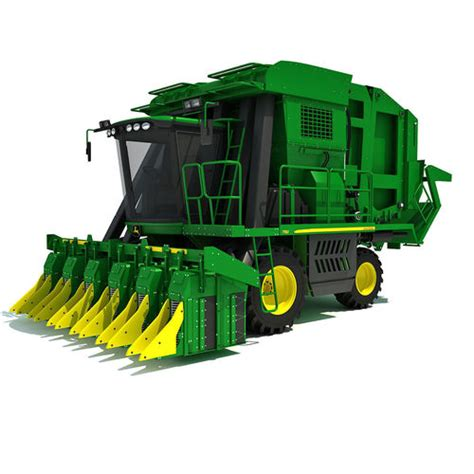 Exclusive Exclusive Corn New Corn Cut Model Bisa Bua 3d green deere cotton picker cgtrader