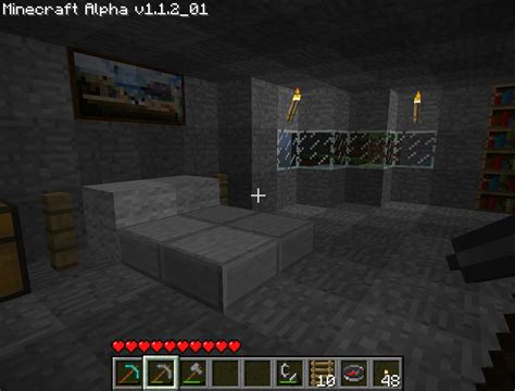 Minecraft Interior Design Bedroom Bed Design Minecraft Home Decoration Live
