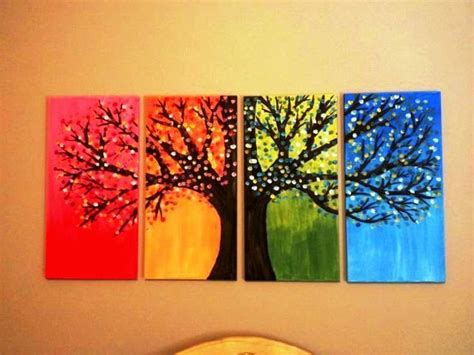 Handmade Artwork Ideas - diy creative wall painting ideas