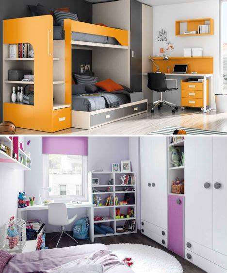 bedroom compact design kids bed furniture set stylishoms com compact colorful kids room design ideas by kibuc
