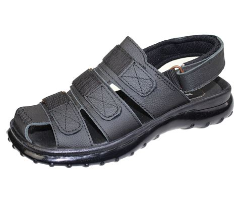 mens sandals with velcro straps boys mens velcro sports sandals comfort walking