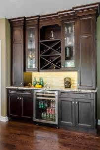 Bar Kitchen Cabinets by Kitchen Dry Bar Traditional Kitchen Chicago By
