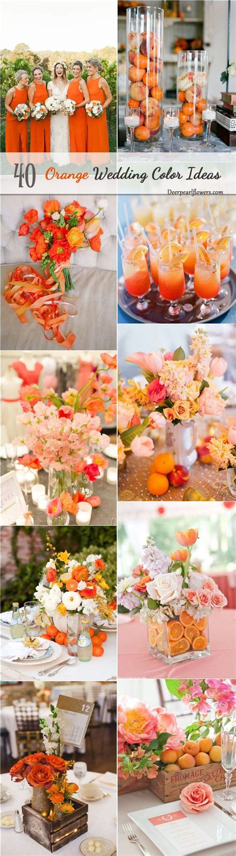 orange wedding colors best 25 orange wedding themes ideas on fall