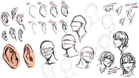Anime Ears by Drawing Ears By Moni158 On Deviantart