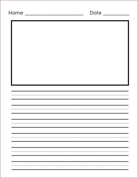 writing template printable template writing paper 28 images writing template 9