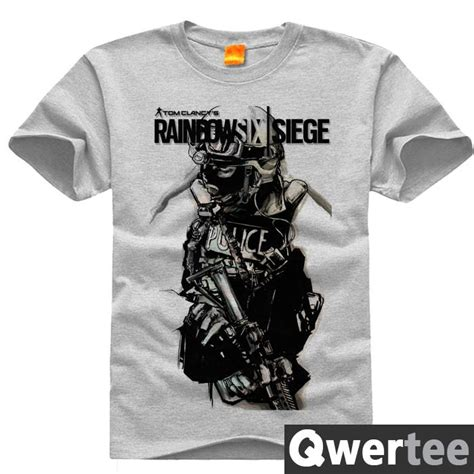 T Shirt Original Maxcyber 6 rainbow six siege tom clancy print original design fashion style casual cotton tshirt t shirt