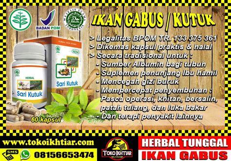 Sari Ikan Kutuk kapsul sari ikan kutuk herbal indo utama webstore