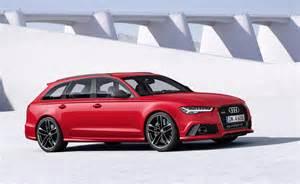 Audi Rs6 2015 2015 Audi Rs6 Avant Facelift Photo Comparison Subtle