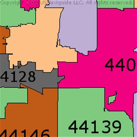 zip code map cleveland zip code map cleveland ohio zip code map