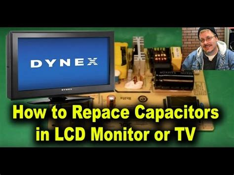 replacing capacitors with higher capacitance how to replace capacitors in lcd monitor or tv for repair