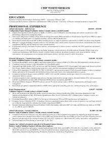 ba business administration resume sales administration