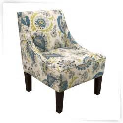 multi colored accent chairs skyline swoop arm chair ladbroke peacock