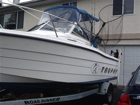 trophy boats nanaimo 18 ft bayliner trophy north nanaimo nanaimo