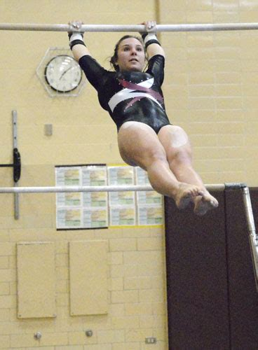kimberly swing gymnasts fall to talented byron think stewartville