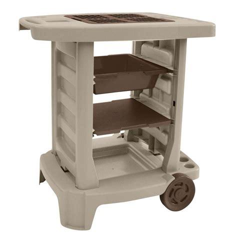 suncast carts wheelbarrows portable 33 in x 33 in