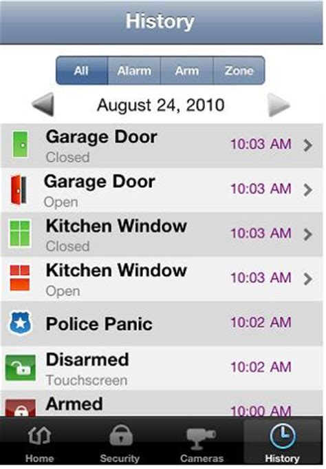 time warner cable smart home security app for