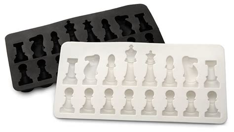 Unusual Chess Sets by Includes Two Chess Molds
