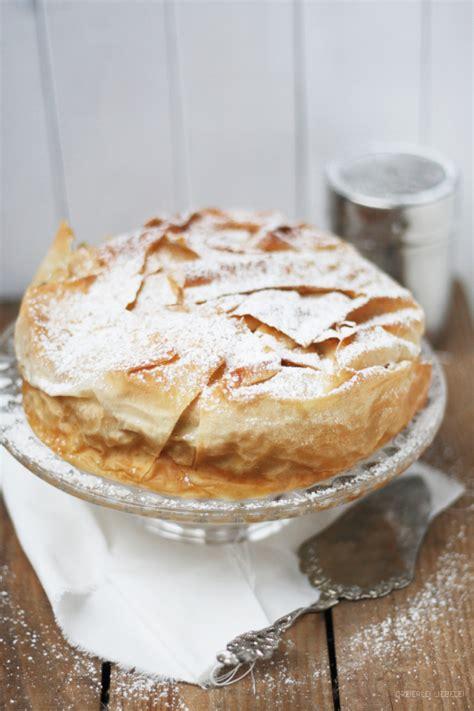 kuchen und co apfelstrudeltorte myriams kuchen tartes co