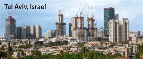 tel aviv future skyline tel aviv the skyscraper center