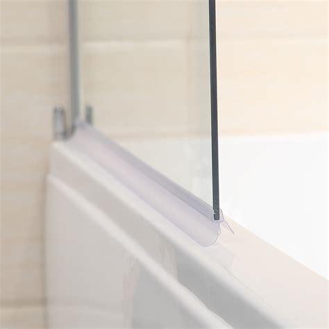 pivot bath shower screen 800x1400mm 180 176 pivot shower screen bath door panel radius