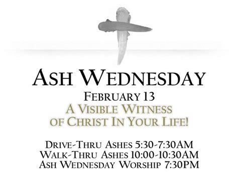 ash wednesday in england ash wednesday drive thru ashes burke va patch