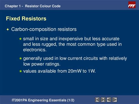 resistors used in everyday most common resistors 28 images 5 band resistance code table everyday electronics resistor