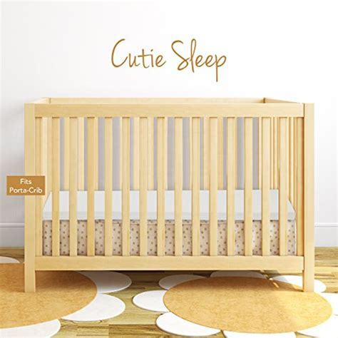 Crib Mattress Memory Foam Topper by Milliard 2 Quot Ventilated Memory Foam Portable Crib Mattress Topper With Waterproof Cover 24 Quot X38