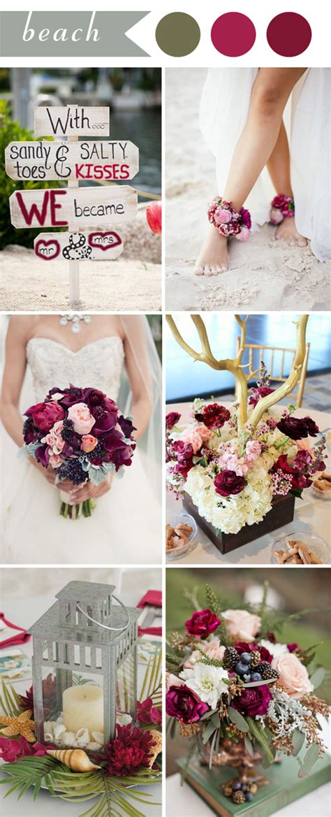 april wedding colors 2017 perfect burgundy wedding themes ideas for 2017