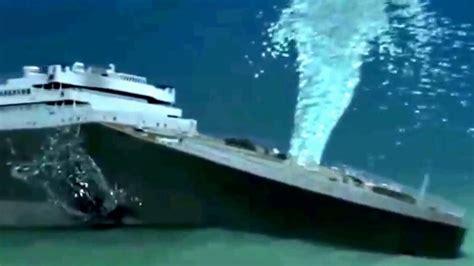 imagenes verdaderas del titanic hundido hundimiento real de el tit 225 nic youtube