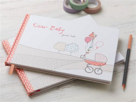 dear baby stories books baby shower dear baby guest book pink by from you to me