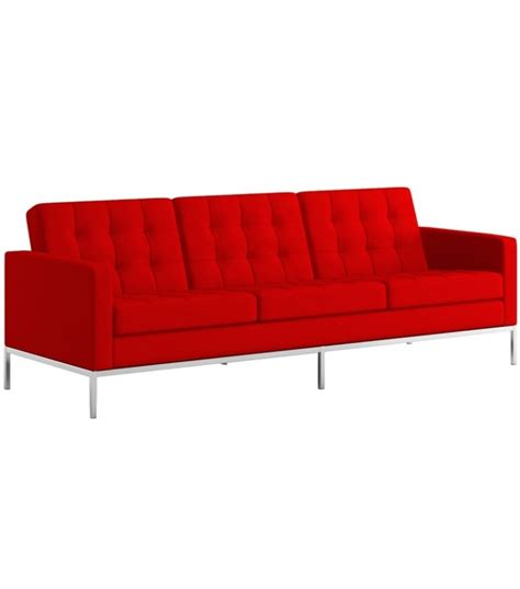 knoll 3 seater sofa florence knoll 3 seater sofa milia shop