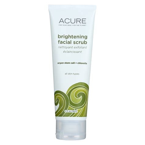 Longrich Skin Nature Brightening Scrub Peeling acure brightening scrub argan extract and