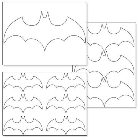 printable image of batman logo printable batman logo printable treats com