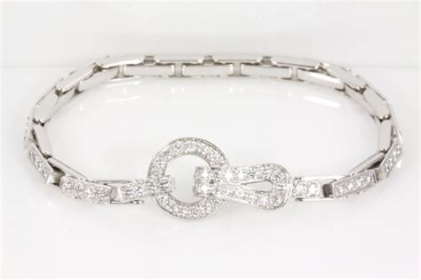 cartier agrafe bracelet state auctions
