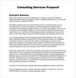 Free Consulting Template by Sle Consultant 5 Documents In Pdf Word