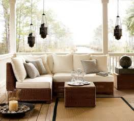 Outdoor Patio Furniture Sectionals Outdoor Garden Furniture By Pottery Barn
