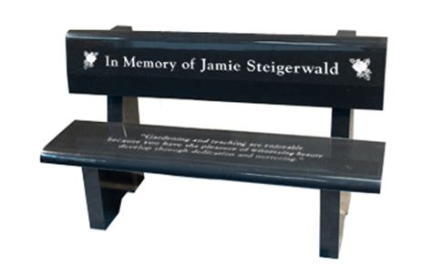 memorial benches cost memorial park bench 48 quot wide headstone tombstone grave