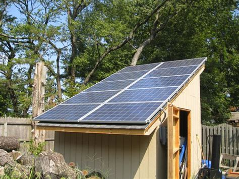 Solar Panel For Shed by How To Heat A Garden Building In The Winter Waltons