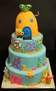 spongebob themed cake s cakes