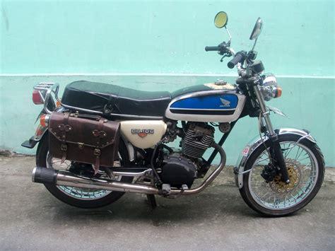Tas Motor jual aksesoris tas motor asli kulit klasik dan jadul hts