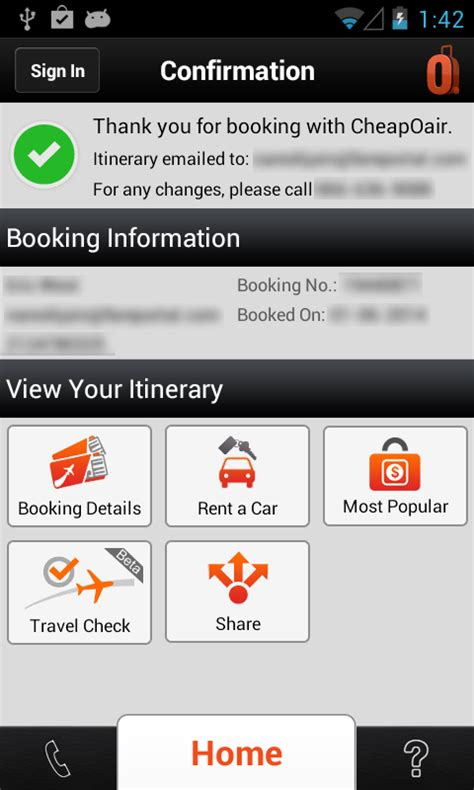 Gift Card Cheapoair - cheapoair flights hotel car android apps on google play