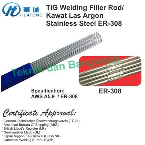 Elektrode Tungsten Las Argon jual 2 4mm x 1meter tig torch rod filler kawat las argon tig stainless teknik dan bangunan