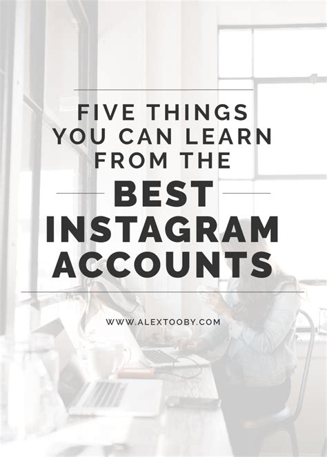 the ultimate instagram growth guide learn how to grow and make money of your instagram books 5 things you can learn from the best instagram accounts