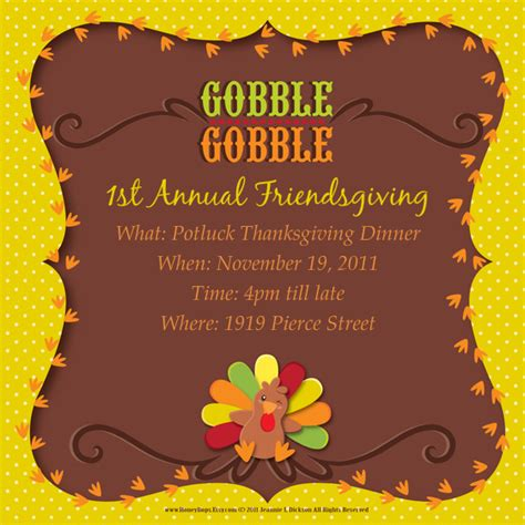 1st Annual Friendsgiving Online Invitations Cards By Pingg Com Friendsgiving Invitation Free Template
