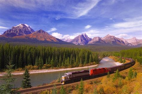 Mrc Carson Blue Sky in banff national park photograph by carson ganci